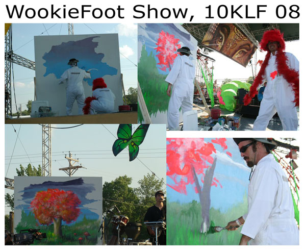 Wookiefoot show, Main Stage, 10KLF