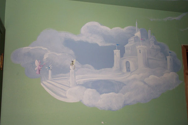 Ciana's Room Mural (wall 2 detail)