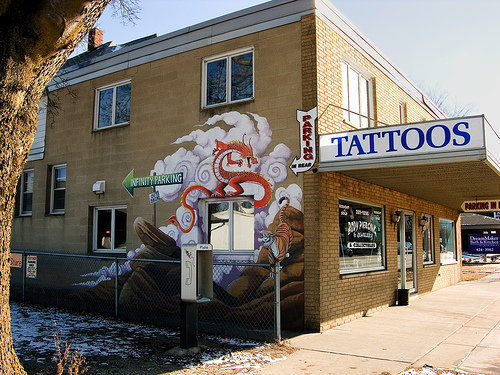 I spent 3 years here as an assistant (doing murals)