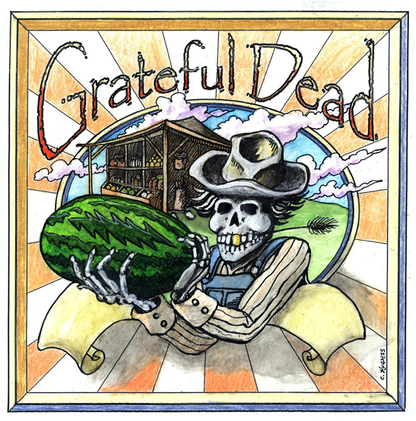 The Winner of the Grateful Dead Dick's Picks Regional Album cover contest, 1992
